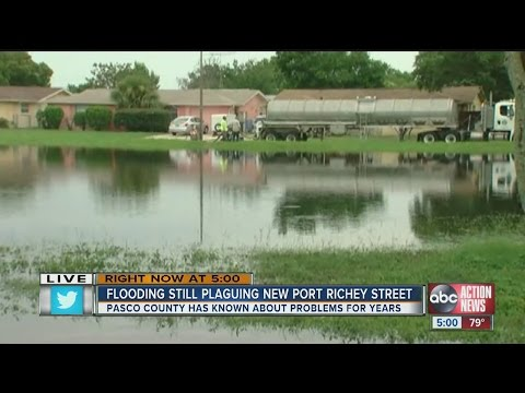 Flooding plagues Port Richey neighborhood