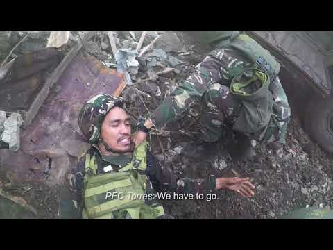 Special Forces Daring Rescue of Wounded Soldier (Actual Footage in Marawi) - FULL VERSION