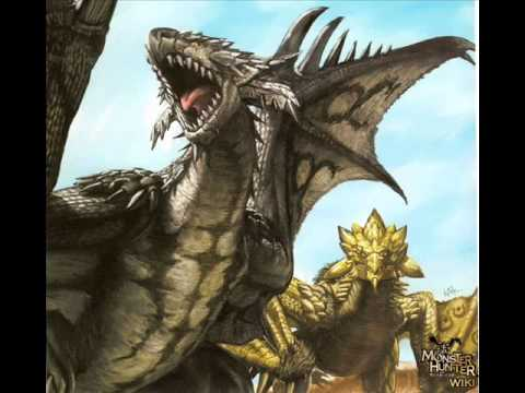 Monster Hunter Silver Rathalos & Gold Rathian Theme ... Gold Rathian And Silver Rathalos