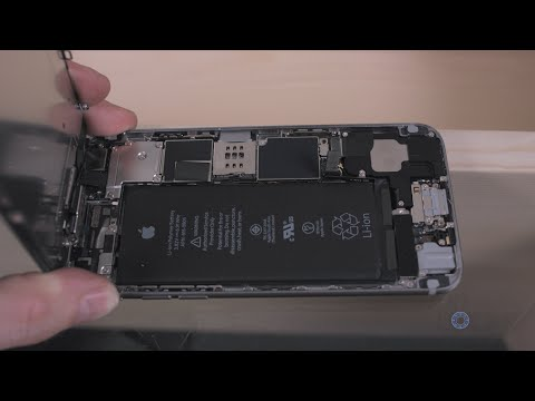 How to Replace the Battery on the iPhone 6