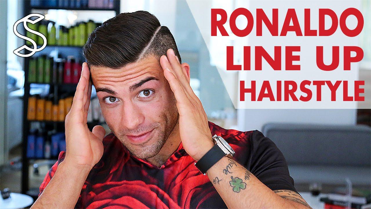 New Cristiano Ronaldo Hair Style YouTube - Hairstyle like cristiano ronaldo cr7