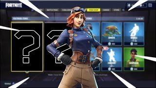 "Item Shop Countdown | New ""Airheart"" Skin Today!! 