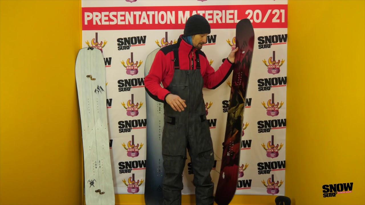 Nouveautés Jones Snowboards 20/21