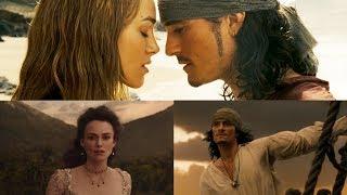 Piratas del Caribe - Will y Elizabeth Mejores Escenas - Español Latino [Especial 300 Subs]