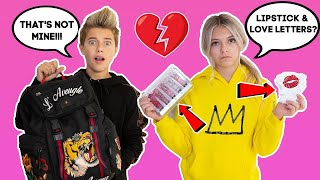 CRUSH REACTS to What's In My BACKPACK **SHE FOUND MY SECRET** | Gavin Magnus ft. Coco Quinn