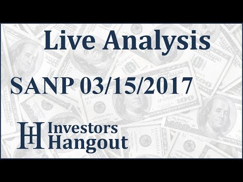 SANP Stock Live Analysis 03-15-2017