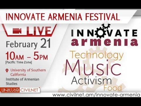 LIVE. Innovate Armenia - Entrepreneurs