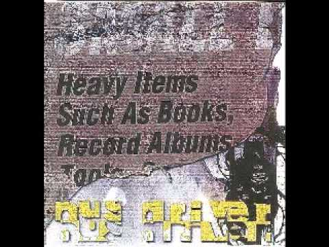 Busdriver - Heavy Items such as Books, Record Albums, Tools