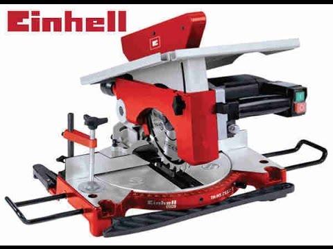 UNBOXING:Preklopna testera sa stolom Einhell TH-MS 2112 T