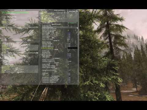 GTX 1060 6GB - Light flickering at Skyrim SE trees