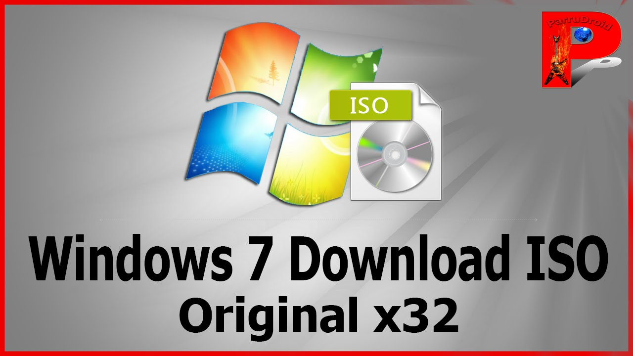 download windows 7 gratis 32 bit