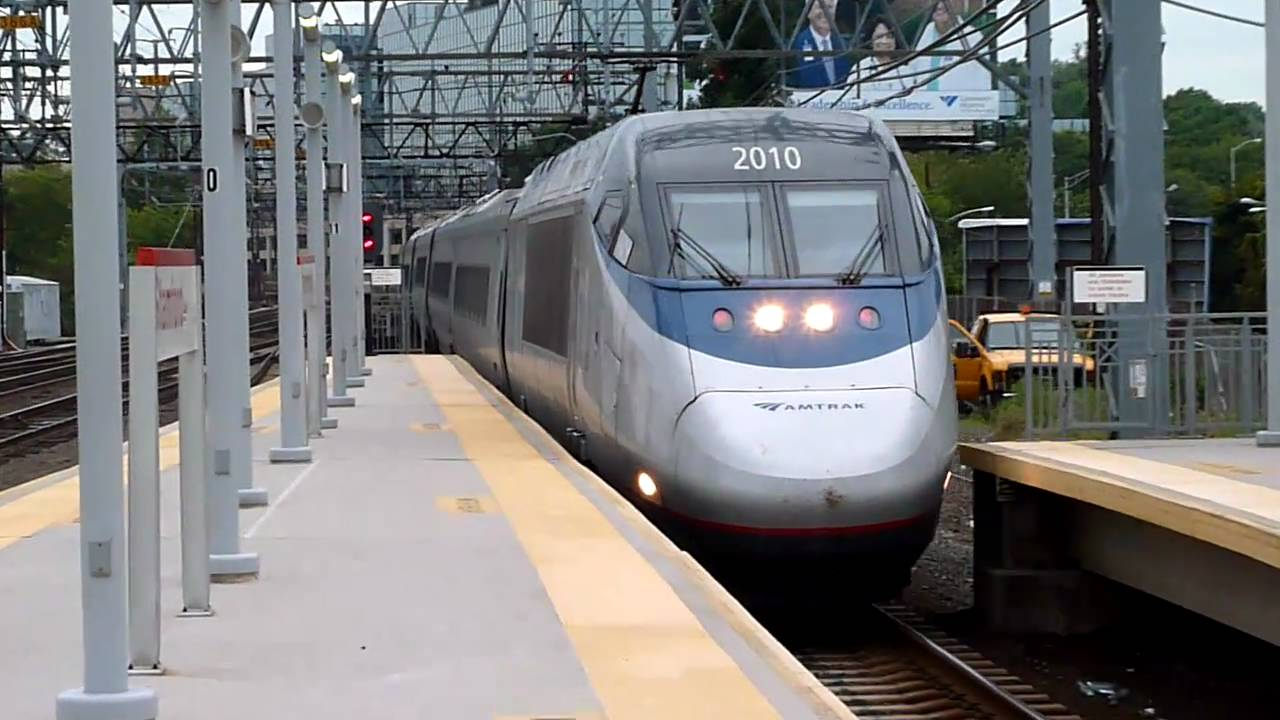 Amtrak Bombardier Alstom Acela Express #2015 Train 2167