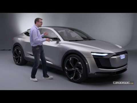 Audi E-Tron Sportback Concept 2017 : le futur électrique d