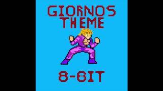 Gambar cover Giorno's Theme (Il Vento D'oro) 8-BIT REMIX