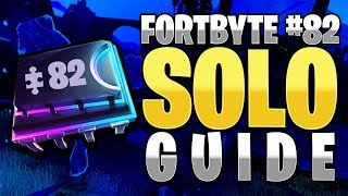 HOW TO GET FORTBYTE #82 SOLO - FORTNITE BATTLE ROYALE