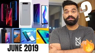 Top Upcoming Smartphones June 2019 🔥🔥🔥