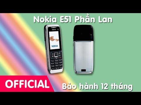 Điện thoại cổ Nokia E51 Chính hãng nguyên bản tồn kho - cách nhận biết chính hãng, nơi bán Nokia E51