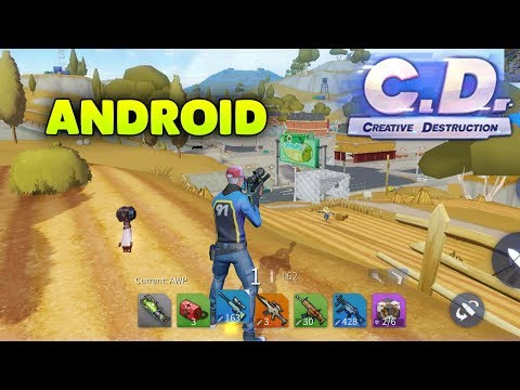 CREATIVE DESTRUCTION - ANDROID GAMEPLAY