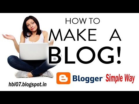 How To Make a Blog - Step by Step for Beginners! #1 Tutorial