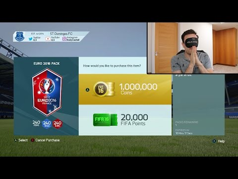 1 MILLION COIN EURO 2016 FINAL PACK!!! Fifa 16 Pack Opening