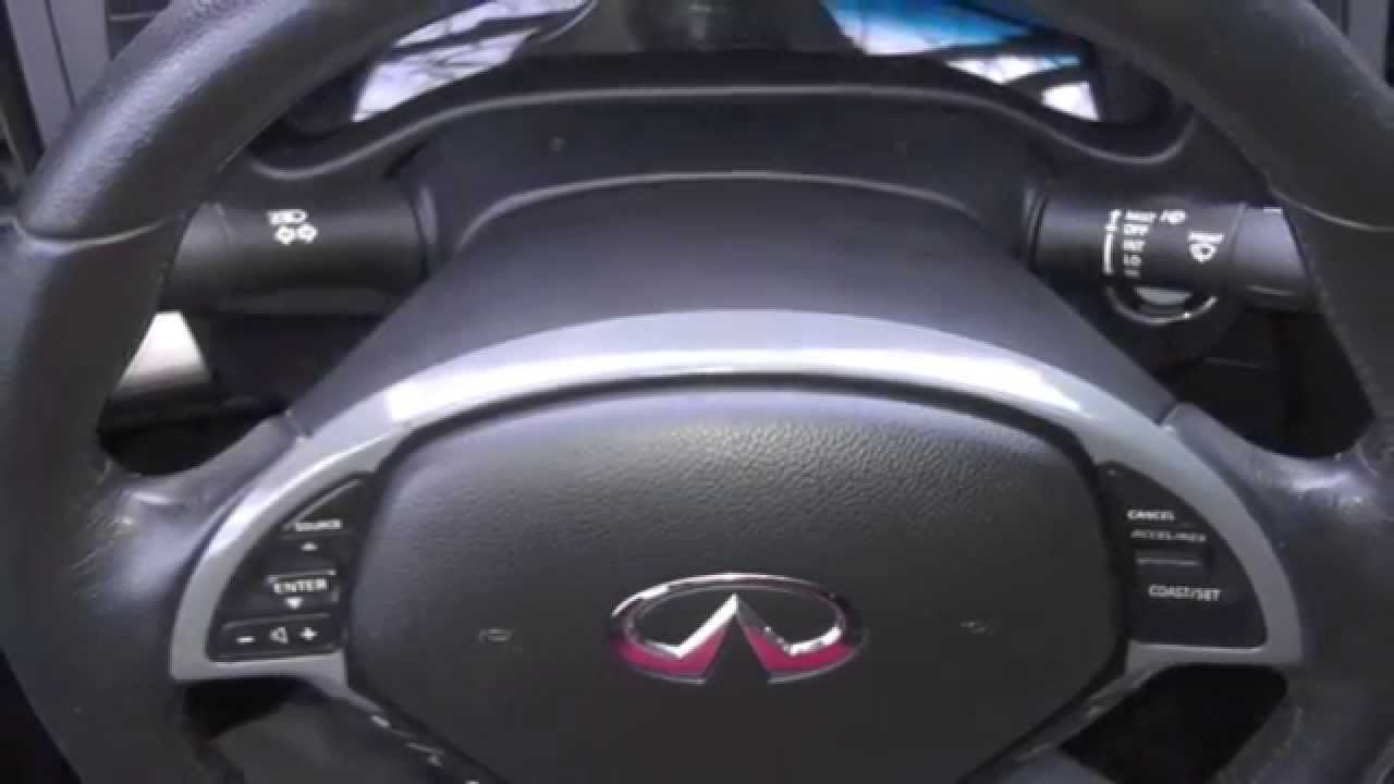 Infiniti G35 Steering Wheel Trim Peeling Modification