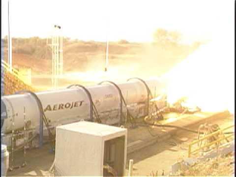 Atlas V Solid Rocket Booster Test