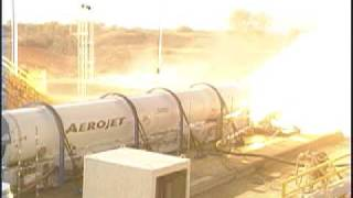 Atlas V Solid Rocket Booster Test