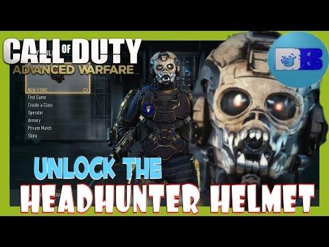 Call of Duty : Advanced Warfare - How to unlock the Headhunter Helmet
