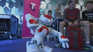 Classroom robots prepare pupils for high tech industry