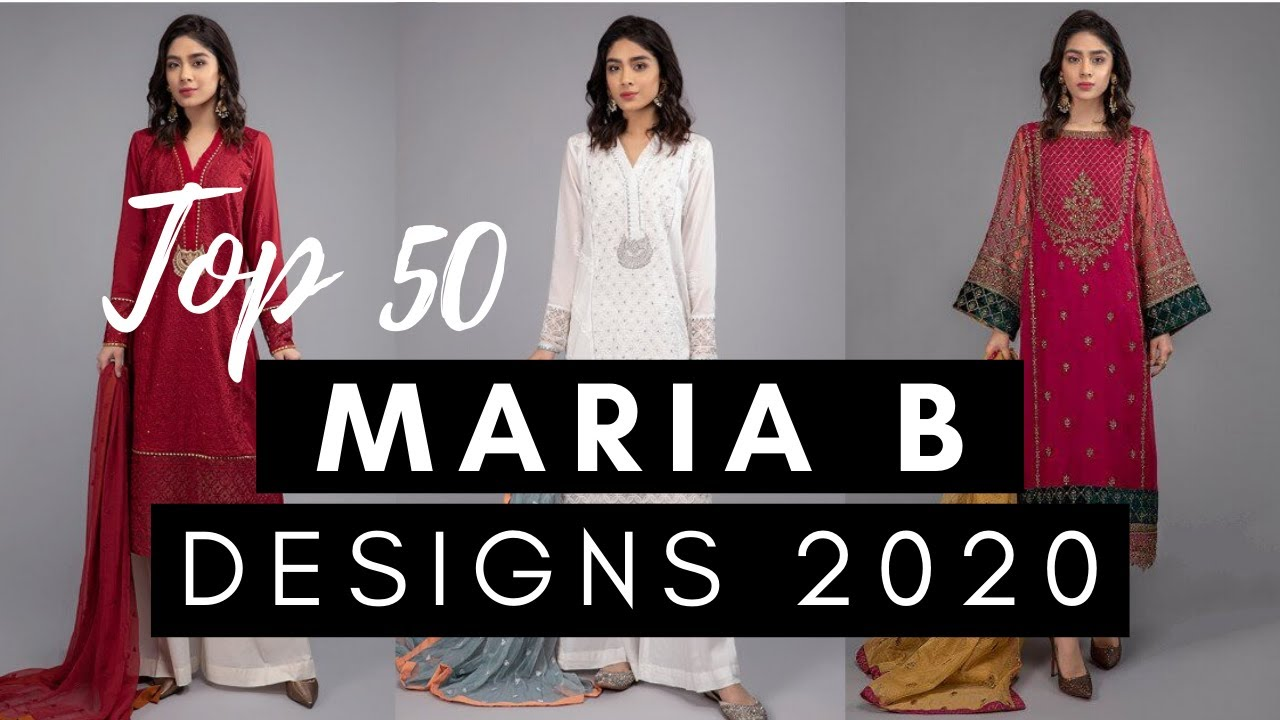 Top 50 Maria B Designs 2020   Maria B Latest Hit Designs