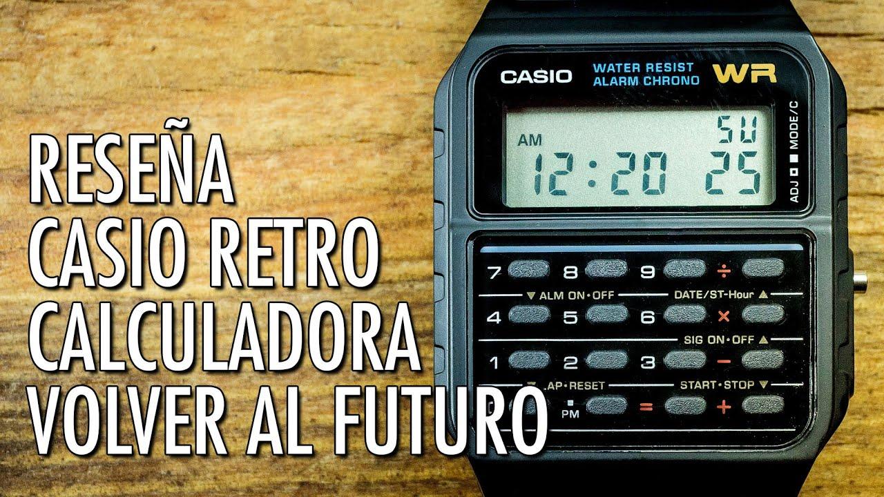 Reseña Casio CA 53W Reloj Calculadora Retro Reloj Digital de Cuarzo en Español