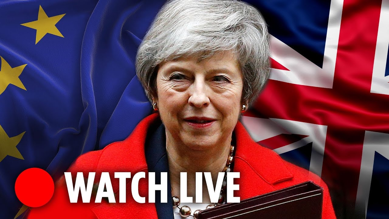 LIVE: Theresa May faces PMQs in Commons
