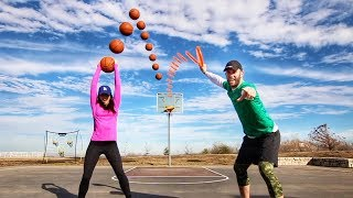 Epic Trick Shot Card Battle | Brodie Smith