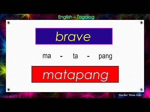 85 English - Tagalog Dictionary # 90