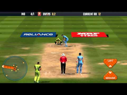 Icc Pro Cricket 2015(India Vs Pakistan) Batting Gameplay