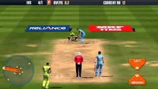 Icc Pro cricket 2015 ( India vs Pakistan ) Batting Gameplay