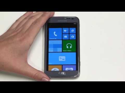Smartphone Tutorial - Samsung ATIV S