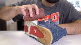 $700 Jordan vs Sandpaper (SNEAKER DESTROYED??)