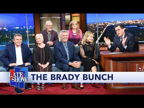 Stephen Colbert Is A 'Brady Bunch' Super Fan