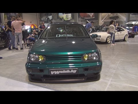 Volkswagen Golf Mk3 1.9 Green (1995) Exterior And Interior