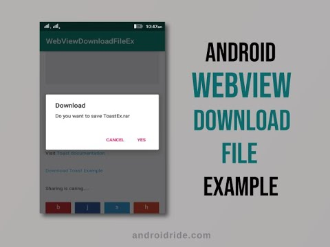 9 Android WebView Example tutorials that had gone way too far