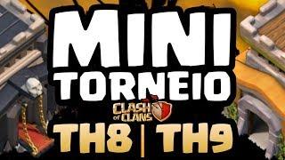🔴MINI TORNEIO CV9 CLASH OF CLANS / MARIO JUMP