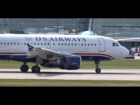 12+ Mins. Plane Spotting Arrivals (1080HD) | Boeing 747-430 | Boeing 777-300 | Crosswind Landings