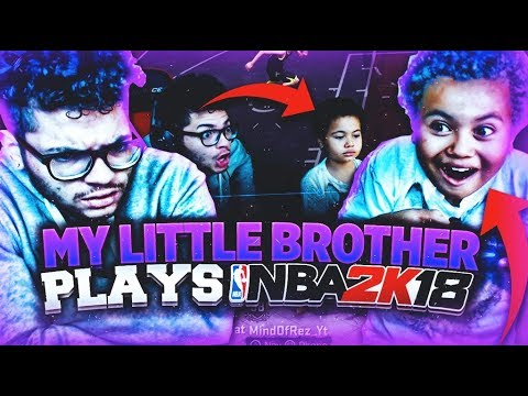 9 YEAR OLD BROTHER PLAYS PLAYGROUND ON NBA 2K18! WILL MTN DEW AND RUFFLES WINNERS SAVE HIM? HE SOLD?