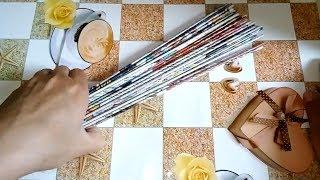 як зробити плетіння з паперу