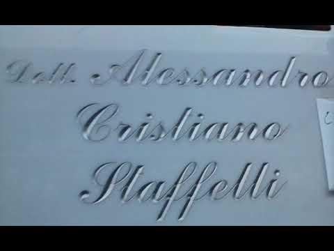TOMBA del dentista, volontario e filantropo ALESSANDRO STAFFELLI, Cimitero Nuovo, Sesto San Giovanni