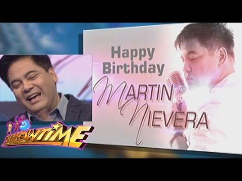 It's Showtime: Happy birthday, Martin Nievera!