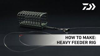 N'ZON Rig Видео 4 – Оснастка для тяжелого фидера «Heavy Feeder River Rig»