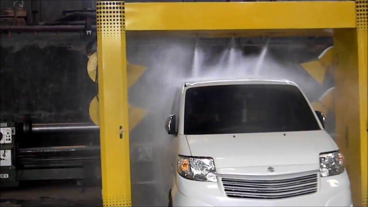 Robotic Car Wash Alat Cuci Mobil Automatic