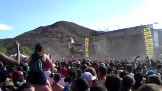 Suicide Silence - Fuck Everything live @ Mayhem Fest 2014 San Bernardino
